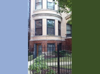 EasyRoommate US - beautiful central garden flat - Lakeview, Chicago - $563 /mo