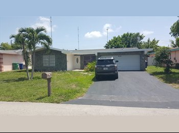 ROOM FOR RENT LOCATED IN 6320 SW 35TH CT MIRAMAR FL33023...