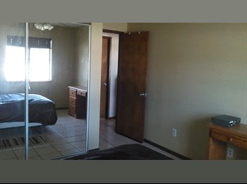 EasyRoommate US - Room w/ full privileges and WiFi and cable included - Hesperia, Southeast California - $500 /mo