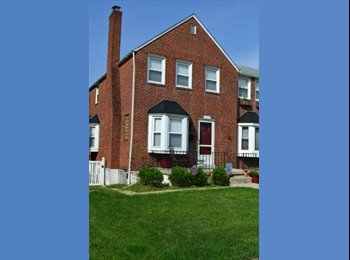 EasyRoommate US - Basement room available in beautiful townhouse - Northwestern, Baltimore - $700 /mo