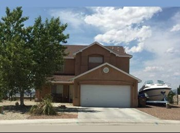 EasyRoommate US - $400 / Month.  1 -2 Rooms For Rent-All Utilities Included. 4 Bedroom House (Del Rey / ParkHill) - Las Cruces, Las Cruces - $400 /mo