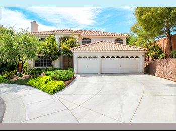 EasyRoommate US - Own room in luxurious house w/waterfall spa, fireplace - Summerlin, Las Vegas - $500 /mo