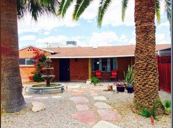 EasyRoommate US - $600 2 mi from UA, large bdrm, renovated! - Tucson, Tucson - $600 /mo