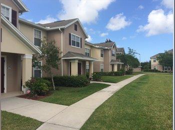 EasyRoommate US - Nice apt complex, clean apt, quiet area... good roomate! - Vero Beach, Other-Florida - $425 /mo