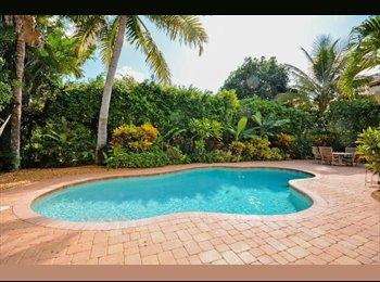 EasyRoommate US - best neighberhood in Delray beach !  - Delray Beach, Ft Lauderdale Area - $1,000 /mo