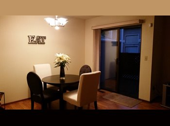 EasyRoommate US - Private room for rent in spacious townhouse - Hayward, San Jose Area - $850 /mo