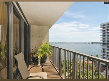 EasyRoommate US - LUXURY ROOM AVAILABLE IN TWO-BEDROOM APARTMENT IN 1450 BRICKELL BAY DR. UNIT #1005 - Brickell Avenue, Miami - $1,100 /mo
