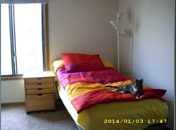 Fully furnished bedroom in NE Minneapolis Arts District!