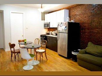 2 Bedrooms Open in our 4 Bedroom 1 Bathroom apartment