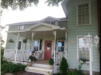 EasyRoommate US - Share Charming Victor Farmhouse - East End, Rochester - $600 /mo