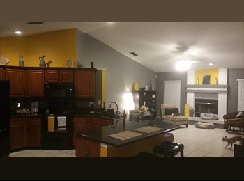 EasyRoommate US - Furnished,  pool home with private bathroom, includes utilities - East Tampa, Tampa - $900 /mo