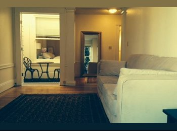 Fully furnished bedroom in amazing 2 bedroom apt in Pac...