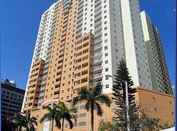EasyRoommate US - 2BE/2BA apt – sublease of a bedroom with bathroom - Brickell Avenue, Miami - $1,100 /mo