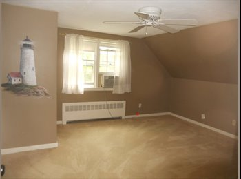 EasyRoommate US - Artistic mural in bright room with ceiling fan - West Hartford, Hartford Area - $700 /mo