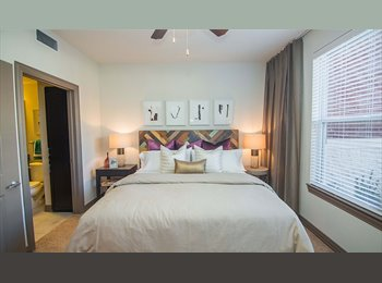 EasyRoommate US - Roommate Needed***Private Room&Bath&Gym***Furnished Living room - East Dallas, Dallas - $737 /mo