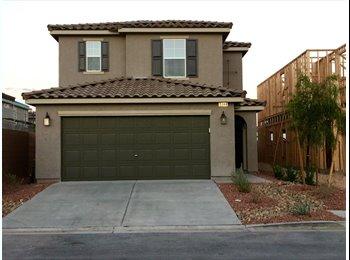EasyRoommate US - BRAND NEW! 4 Bedroom House! Looking for 2 Roommates!  - Summerlin, Las Vegas - $600 /mo