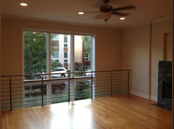EasyRoommate US - Roommate Wanted To Share OPULENT, HUGE Duplex Townhouse With Deck - Logan Square, Chicago - $1,100 /mo