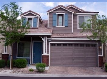 EasyRoommate US - $550 Room For Rent in Gated SW Community!!! Move in ready!! (Windmill and Buffalo) - Mountain's Edge, Las Vegas - $550 /mo