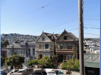 Room available in a 2 Bedroom / 1 Bath in the Castro