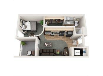 Studio Apartment Near IUPUI Available!