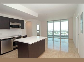 EasyRoommate US - One Bedroom with Bath in The Ivy at Riverfront - Downtown, Miami - $1,275 /mo