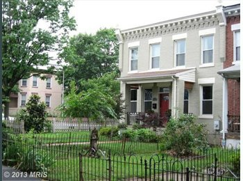 Row House Off H Street Available Immediately!