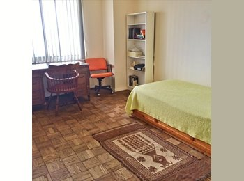 Large Sunny Room with Green Views for Rent!