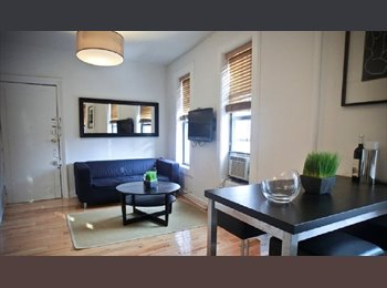 One room in a Sun Drenched 3 Bedroom, 1.5 Bath Apartment!