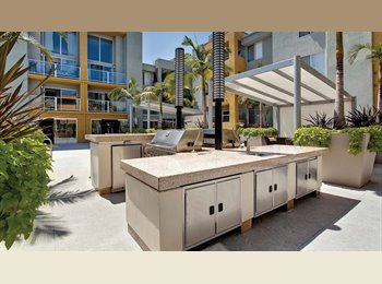 EasyRoommate US - WeHo Poolside Paradise - Top-floor balcony with En suite Bathroom in WeHo - West Hollywood, Los Angeles - $1,700 /mo