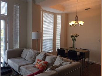 Cozy common bedroom for rent at the LeftBank River Oaks