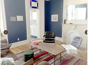 Gorgeous park slope room with private entrance!