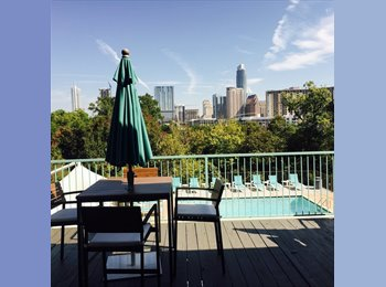 EasyRoommate US - Fabulous Room for Rent in 2 Bdrm Apt in Amazing Apartment Complex mins from Downtown - Downtown, Austin - $875 /mo