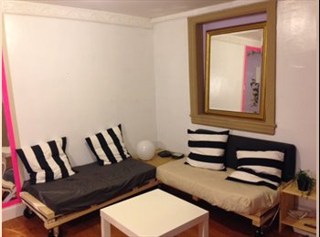 EasyRoommate US - Stunning airy and large furnished room - Park Slope, New York City - $1,100 /mo