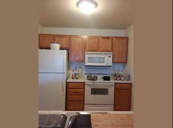EasyRoommate US - $497 / 1br - 270ft2 - One master bedroom&full bathroom in 2br/2ba sublease in March 2016 (2415 Brist - Ames, Other-Iowa - $497 /mo