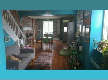 800 Canton/Highlandtown-Extra large room+private bath + all...