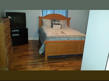 bedroom with private bath and additional room for rent in...
