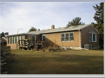 large home with 2 plus acres of land.  very close to cities