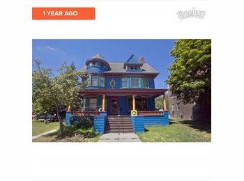 Big blue house, MAC ave
