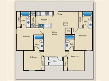 EasyRoommate US - Sublease needed $425 per Month - Ames, Other-Iowa - $425 /mo