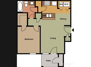 Medical Center Area 1/1 Avail Immediately Free Cable...