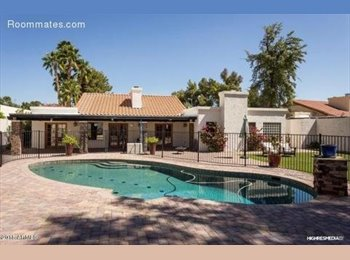 EasyRoommate US - Beautiful home with pool in Scottsdale - Scottsdale, Scottsdale - $750 /mo