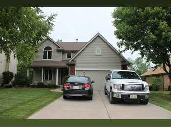 1 Bedroom in a nice house in NW Omaha
