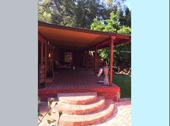 EasyRoommate US - Seeking Pro+Yogi for Hilltop Oasis | Yard, Deck, Peaceful Silence - Beverly Glen, Los Angeles - $2,000 /mo