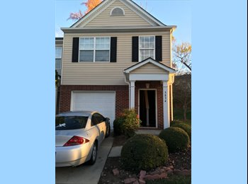 EasyRoommate US - 2500 sq ft town house room for rent, huge room downstsirs - Goldsboro, Other-North Carolina - $500 /mo