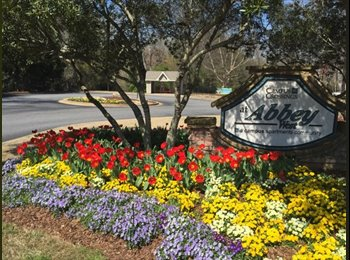 EasyRoommate US - 1 or 2 bedroom at Abbey West Apartments for sublease available - Athens, Athens - $900 /mo