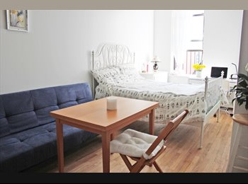 EasyRoommate US - Sunny Studio Apartment in the heart of LES - Lower East Side, New York City - $3,000 /mo