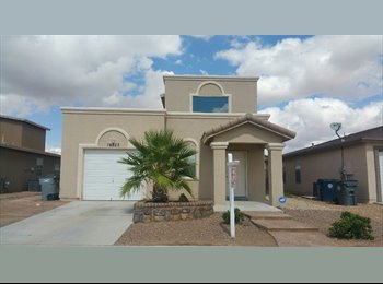 EasyRoommate US - House for rent  - East El Paso, El Paso - $1,150 /mo