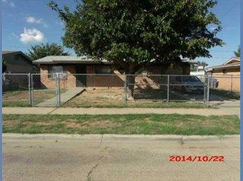 EasyRoommate US - Very nice 3 bedroom home with 1 bath. - Central El Paso, El Paso - $400 /mo