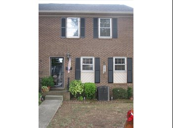 EasyRoommate US - roommate to a three story towm home - Charlotte, Charlotte Area - $550 /mo