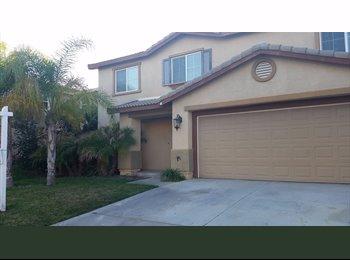 EasyRoommate US - $550 / 450ft2 - ROOM FOR RENT **MAPLETON COMMUNITY** MURRIETA (Murrieta) - Murrieta, Southeast California - $550 /mo